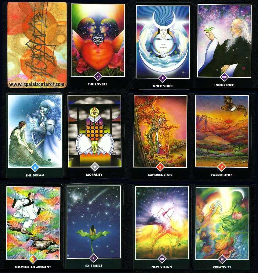 Cartes de tarot zen d'Osho
